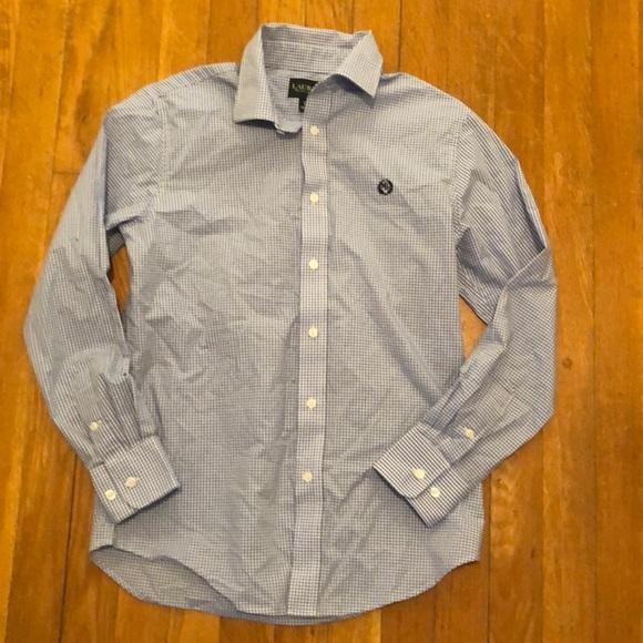 Boys Ralph Lauren size 14 button down shirt